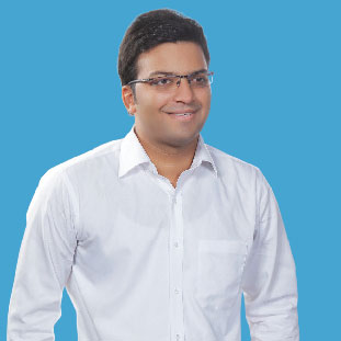Arpeet Gupta,  Anil Sagar & Avnish Kumar, CEO,  COO & CTO