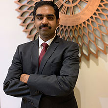 Anup Nair,Executive Director