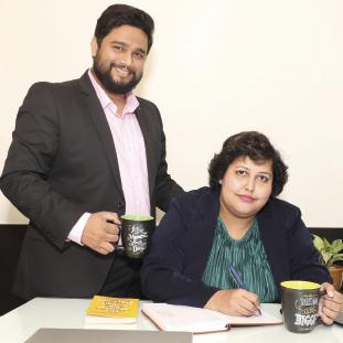 Jeevendra Poddar, MD,Shipra Singh, CEO