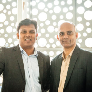 Ameya Kamat, Co- Founder & CEO,Praveer ,Co-founder