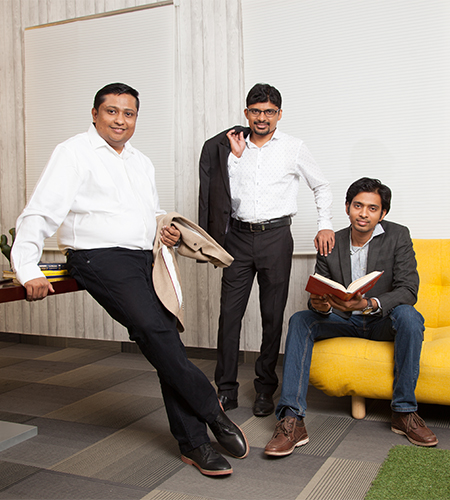 Naveen Valsakumar  Co-Founder & CEO &  Bhargava Adepalley  Co-Founder & CTO,    Jana Pillay   Co-Founder & CCO