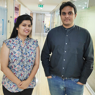 Chandni Priya & Karan Kabra,,Co-Founders