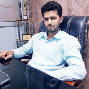 Amit Kumar Yadav, Founder & Director,Puja Thakur, Co-Founder & Tech Head