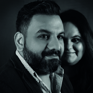 Vishal N. Ahuja, Business Head,Shweta Ahuja, Executive Creative Director