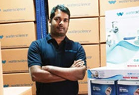 Sudeep Nadukkandy, CEO and Co-founder, Water Science
