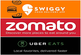 Zomato, Swiggy and UberEats Paying Higher Cash on Delivery