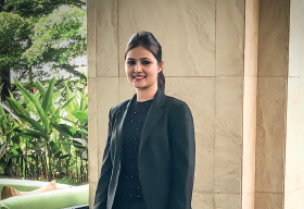 Salma Shaikh, Front Office Manager, Courtyard Marriott Pune Chakan