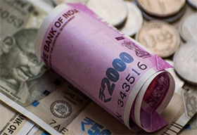 Rupee gains 2 paise to 71.22 vs USD