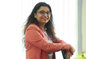 Debyani Sinha, Global Head Human Resources (Vice President), Nucleus Software