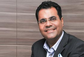 Vineet Taing, President, Vatika Business Centre