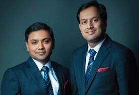 Puneet Jain and Yatin Jain, Directors ODHNI