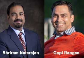Shriram Natarajan, CTO, Persistent Systems [NSE: PERSISTENT] and Gopi Rangan, Founder and General Partner, Sure Ventures