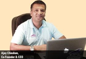 Ajay Chauhan,  Co-Founder & CEO,  SalezShark Inc