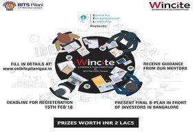 CEL, BITS Pilani Goa Campus organizes WINCITE'18