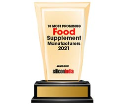 10 Most Promising Food Supplement Manufacturers - 2021