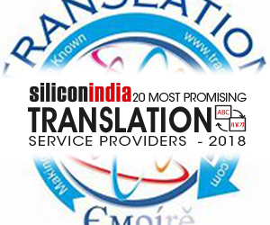 20 Most Promising Translation Service Providers - 2018