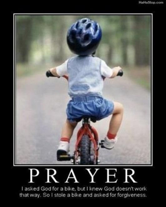 Bike Prayer