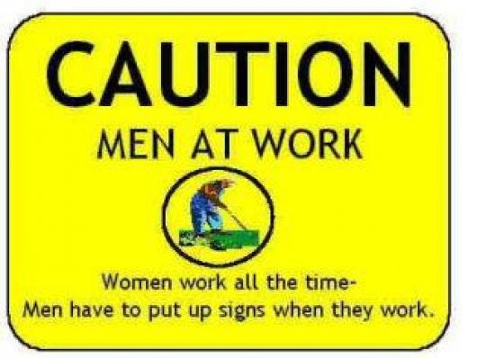 Caution: Men At Work