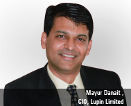 By Mayur Danait , CIO, Lupin Limited