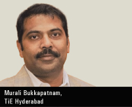 Murali Bukkapatnam, President of TiE Hyderabad & CEO & Co-Founder of getdomestichelp.com