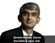 Narendra Bhandari, Director, Asia Pacific & Japan, Intel