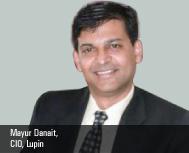 Mayur Danait, CIO, Lupin