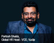 Paritosh Shukla, Global HR Head - VOD, Vuclip