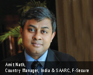 Amit Nath, Country Manager, India & SAARC, F-Secure