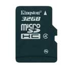 Kingston Launches New 32GB  MicroSDHC Card
