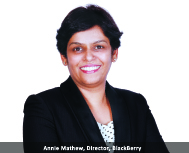 By Annie Mathew, Director, Alliances and Business Development, BlackBerry
