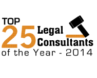 Top 25 Legal Consultants of Year - 2014