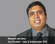 Maneesh Jaikrishna, Vice President – India & Subcontinent, SITA