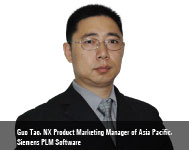 By Guo Tao, NX Product Marketing Manager of Asia Pacific, Siemens PLM Software