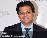 Kartik Kakar, Marketing Manager, Ameyo