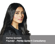 Pernia Qureshi Consultancy: No Room for Good, But Extra-ordinary