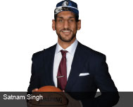 Indian Born Satnam Singh Creates History By Making It To The...