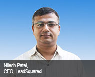 Nilesh Patel, Founder & CEO, Leadsquared
