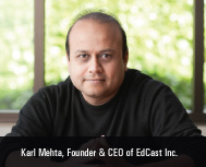 Karl Mehta founded Edcast Secures $6 Million Funding