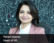 Pallavi Kapoor, HR Head - India & SAARC, EMC