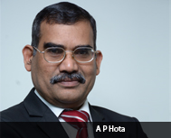 A P Hota, CEO & MD, NPCI