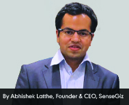 By Abhishek Latthe, Founder & CEO, SenseGiz