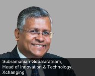 By Subramanian Gopalaratnam, Head of Innovation & Technology, Xchanging
