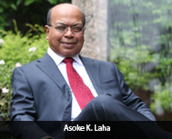 Asoke K. Laha, Founder & CEO, Interra Information Technologies,  Inc.