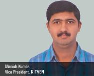 Manish Kumar, Vice President, KITVEN