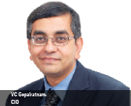 VC Gopalratnam, CIO, Cisco Systems Inc