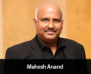 Mahesh Anand, President, Decorative Paint Division, Nippon Paint