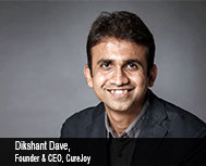 Dikshant Dave, Founder & CEO, CureJoy