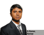 A. Kumar, Partner, Kreativ Technology Solutions