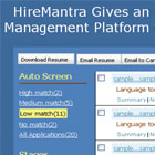 HireMantra: A Boon for Recruiters
