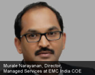 By Murale Narayanan, Director, Managed Services at EMC India COE